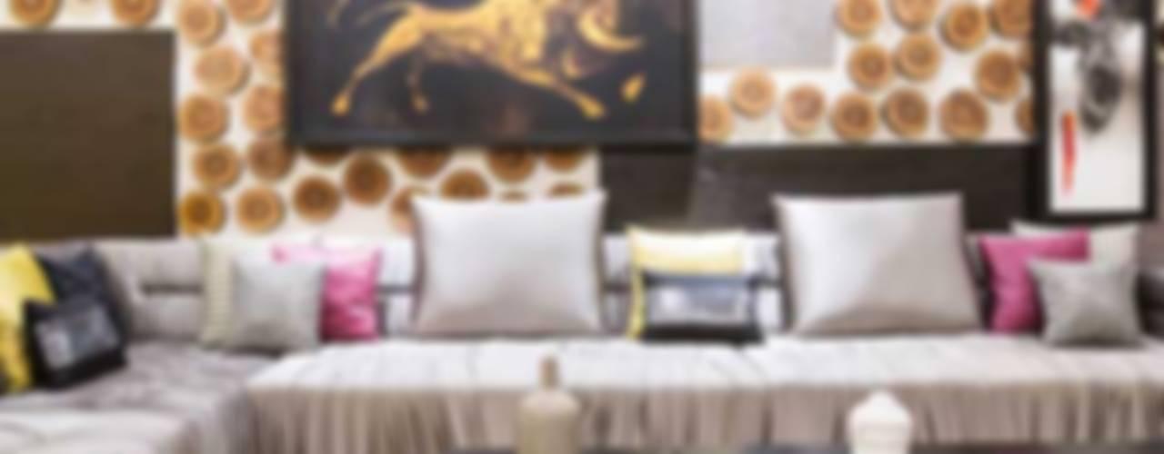 SARNAIK'S Modern living room by Studio Vibes Modern