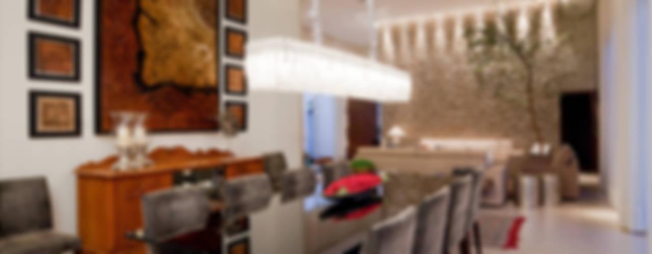 Maria Helena Caetano _ Arquitetura e Interiores Comedores de estilo moderno