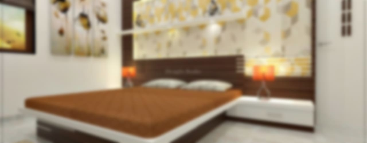 Bedroom designs:  Bedroom by Desig9x Studio,Modern