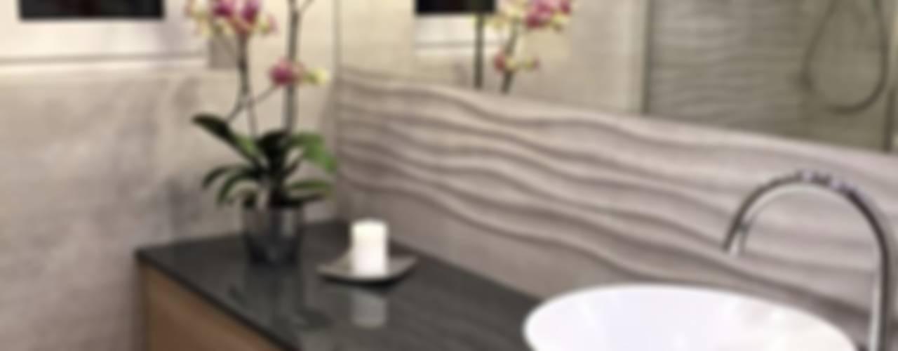 Łazienka Nowoczesna łazienka od Pracownia Projektowania Wnętrz Karolina Czapla Nowoczesny