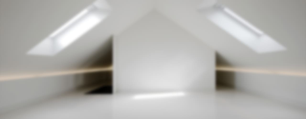 Ruang Studi/Kantor Modern Oleh T O H A ARQUITETOS Modern