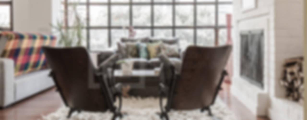 La remodelación de un apartamento en chico norte. : Salas de estilo  por ARCE S.A.S
