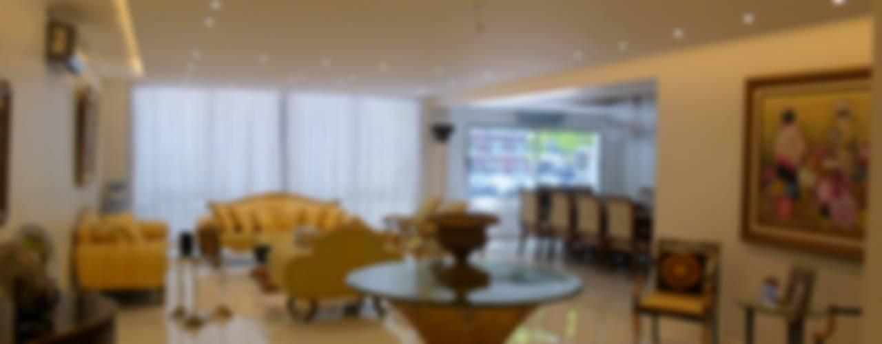 DEPARTAMENTO EN PALERMO I: Livings de estilo  por Estudio BASS Arquitectura,Moderno