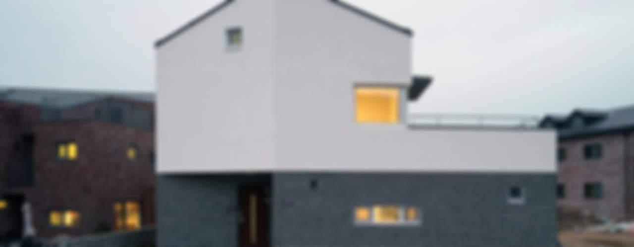 Projekty,  Domy zaprojektowane przez IDÉEAA _ 이데아키텍츠