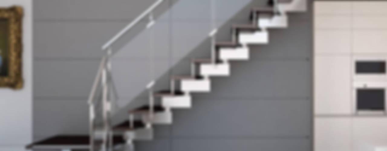 5 Barandas De Vidrio Que Haran Lucir Tu Escalera Moderna - Barandas-escaleras-modernas