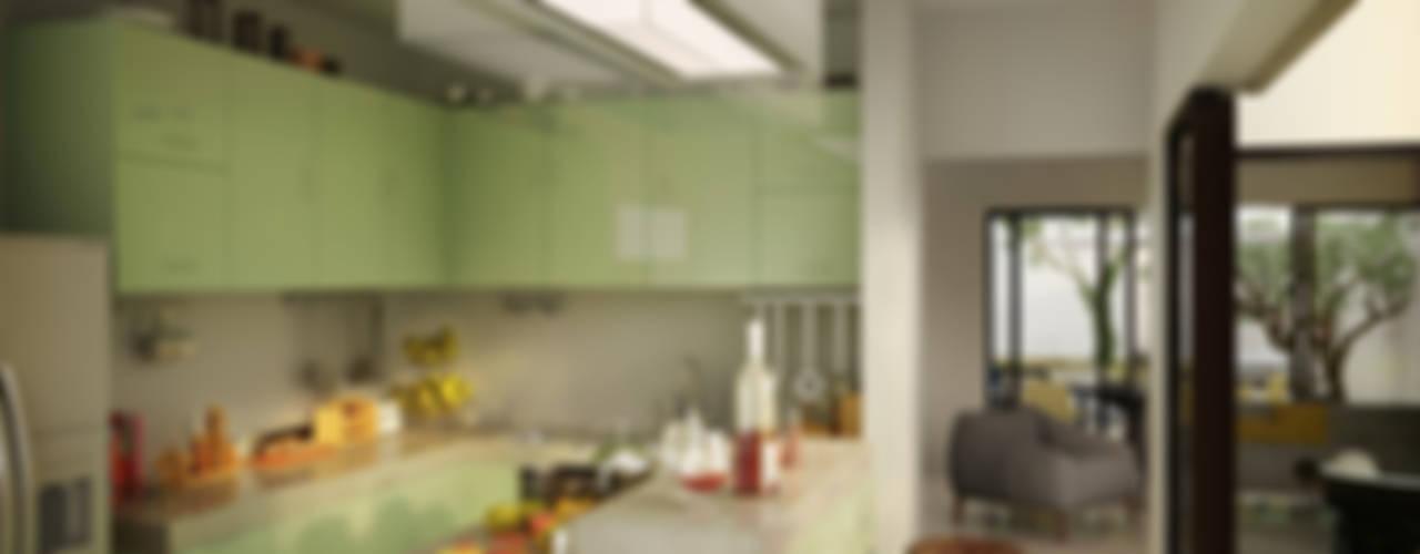 Casa Alor Cocinas modernas de mousa / Inspiración Arquitectónica Moderno