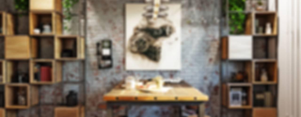 مطبخ تنفيذ Дизайн-мастерская 'GENESIS'