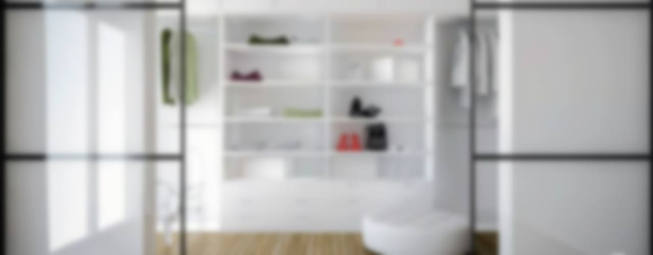 Dressing room by Progetti Architektura