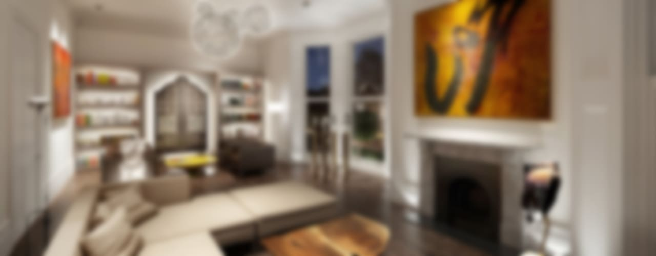 House in Notting Hill by Recent Spaces Modern living room by Recent Spaces Modern