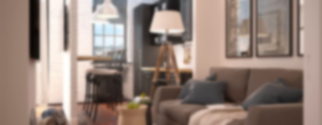 Livings de estilo escandinavo por GM-interior