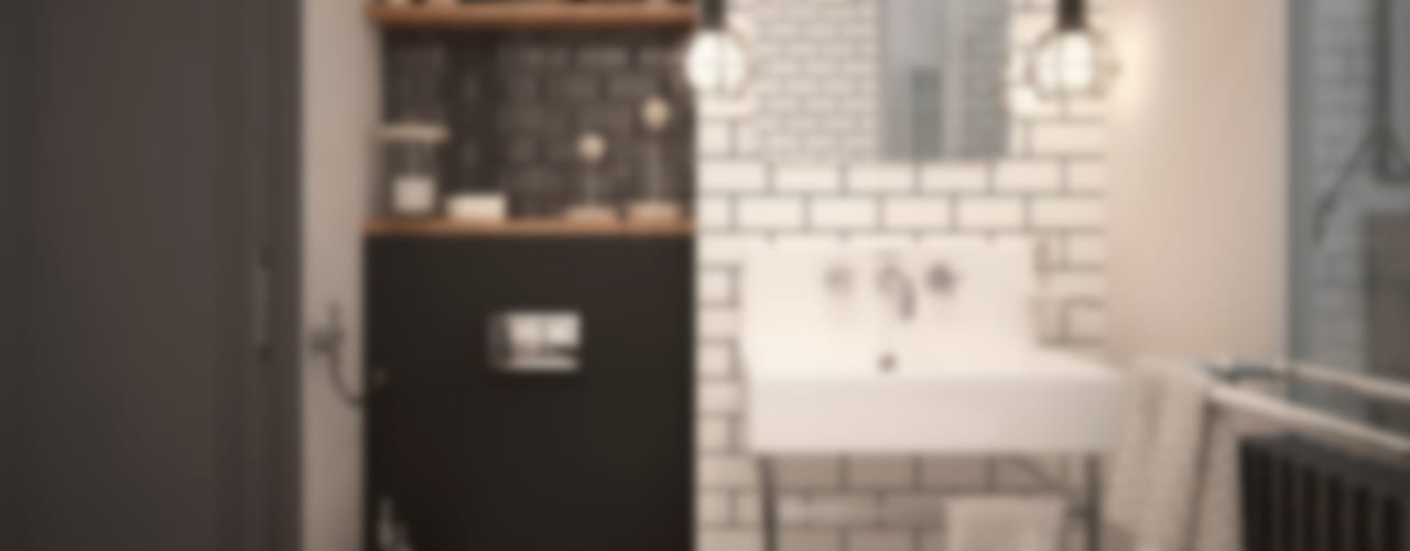 Bathroom by GM-interior, Scandinavian