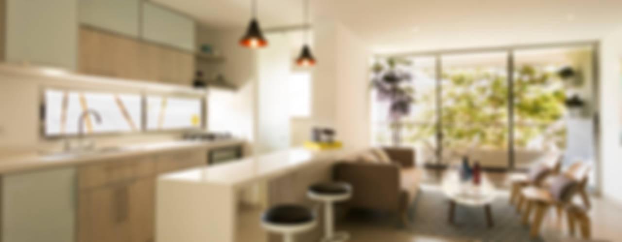Apartamento Modelo Bianco - Sabaneta Antioquia de Cristina Cortés Diseño y Decoración Moderno