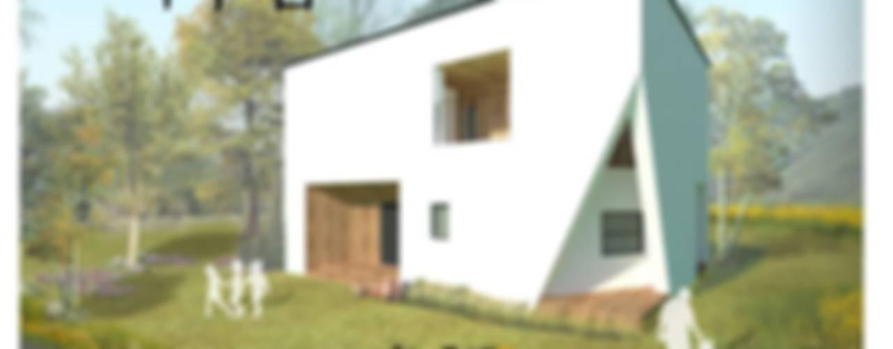 Nowoczesne domy od 한글주택(주) Nowoczesny