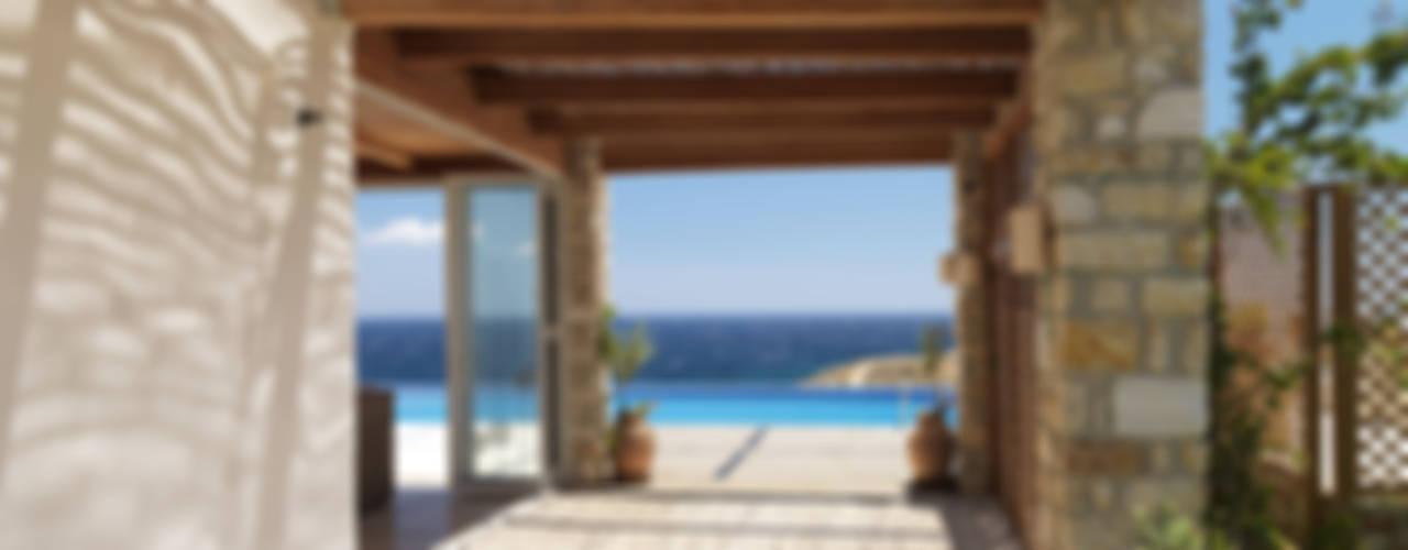Mediterrane balkons, veranda's en terrassen van Carlos Eduardo de Lacerda Arquitetura e Planejamento Mediterraan