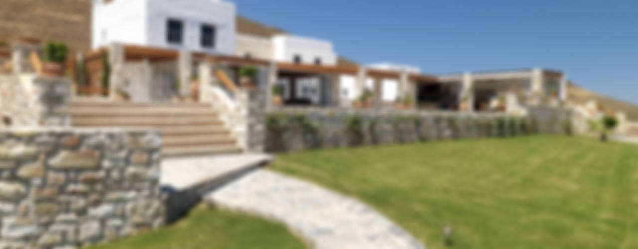 Vila Seacrest - Ilha de Paros - Ciclades - Grécia: Casas  por Carlos Eduardo de Lacerda Arquitetura e Planejamento