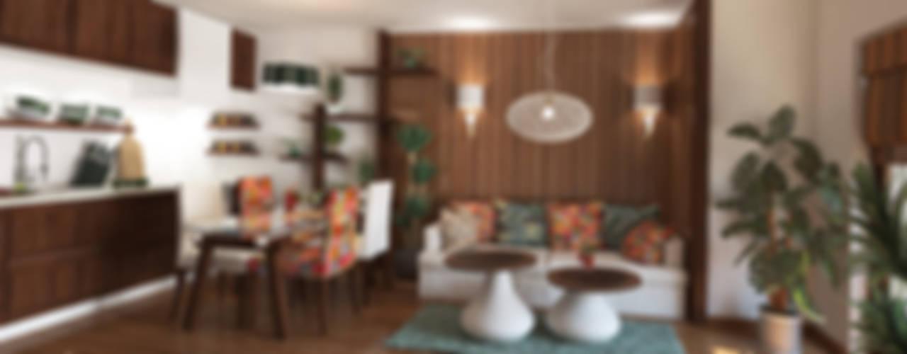 Livings de estilo  por Inspiria Interiors