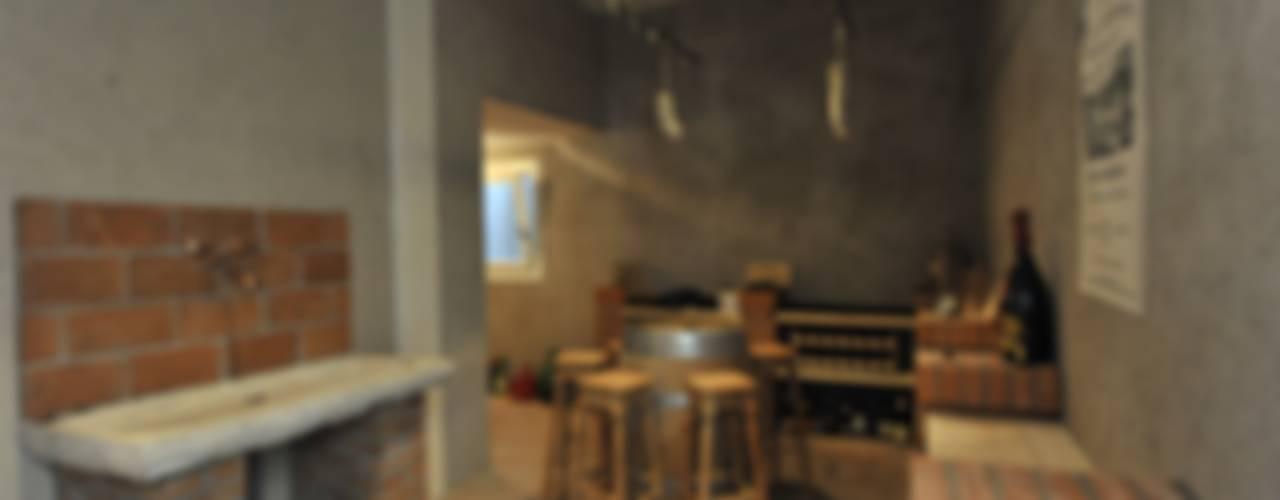 classic Wine cellar by studio arch sara baggio