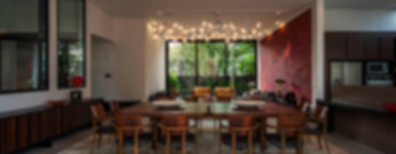 Projeto Alto de Pinheiros - SP Salas de jantar modernas por Alice Martins Flávio Butti Moderno