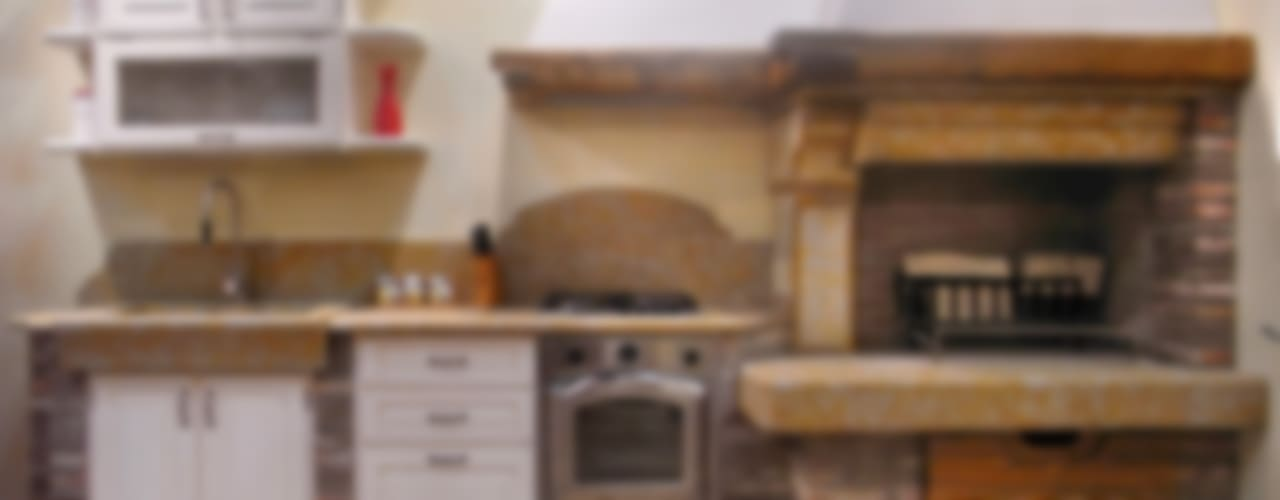 Cocinas de estilo  por SALM Caminetti