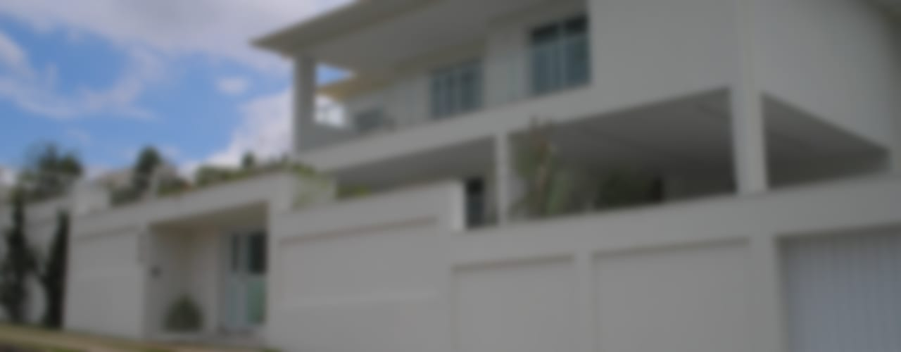 Residência Village Terrasse-Fernandes Casas modernas por Monica Guerra Arquitetura e Interiores Moderno
