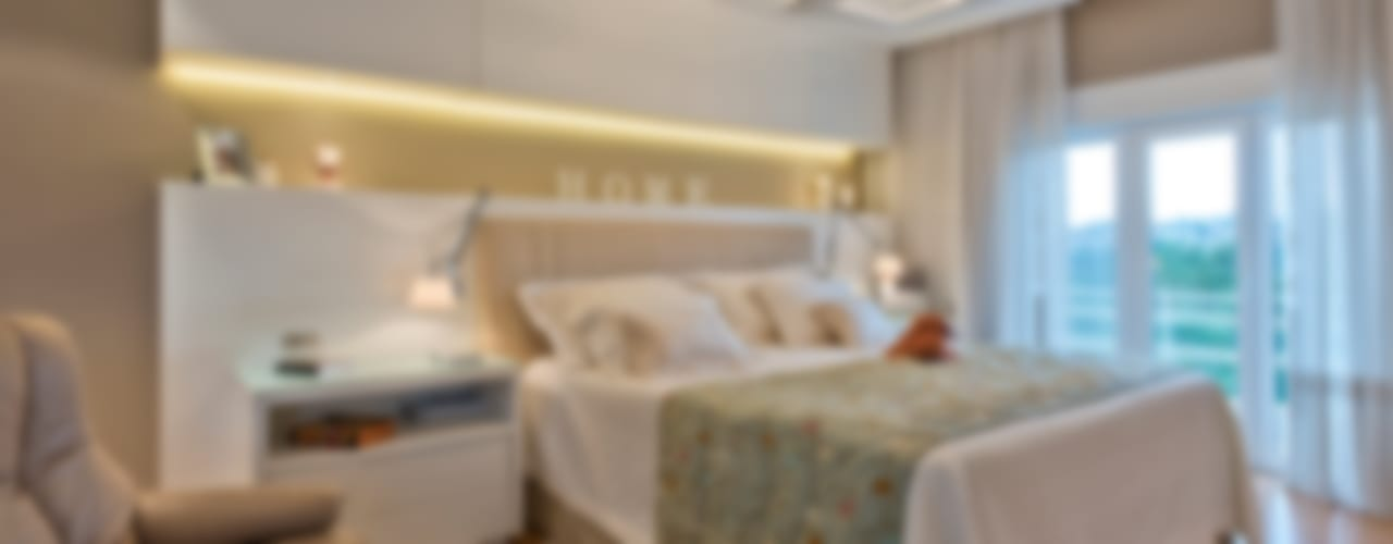 Karin Brenner Arquitetura e Engenharia Modern style bedroom