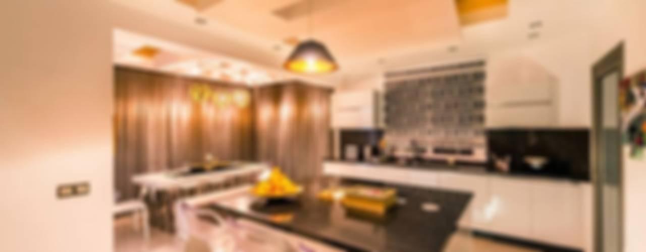 RBK evi Lapta/ Girne Modern Mutfak Şölen Üstüner İç mimarlık Modern