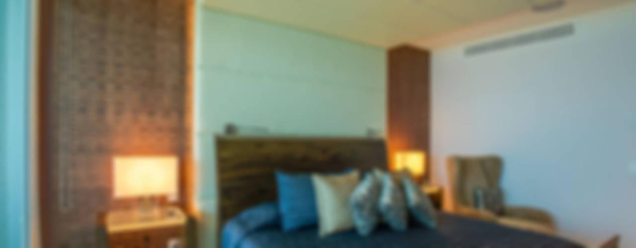 Dormitorios de estilo  por Art.chitecture, Taller de Arquitectura e Interiorismo 📍 Cancún, México.,