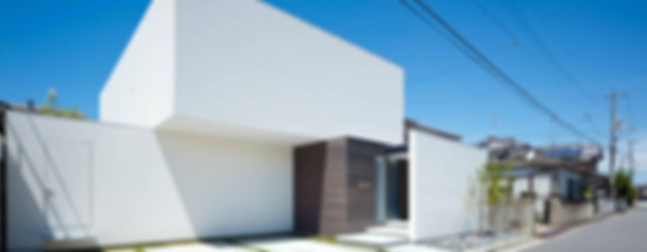 作品 モダンな 家 の 小松隼人建築設計事務所 モダン
