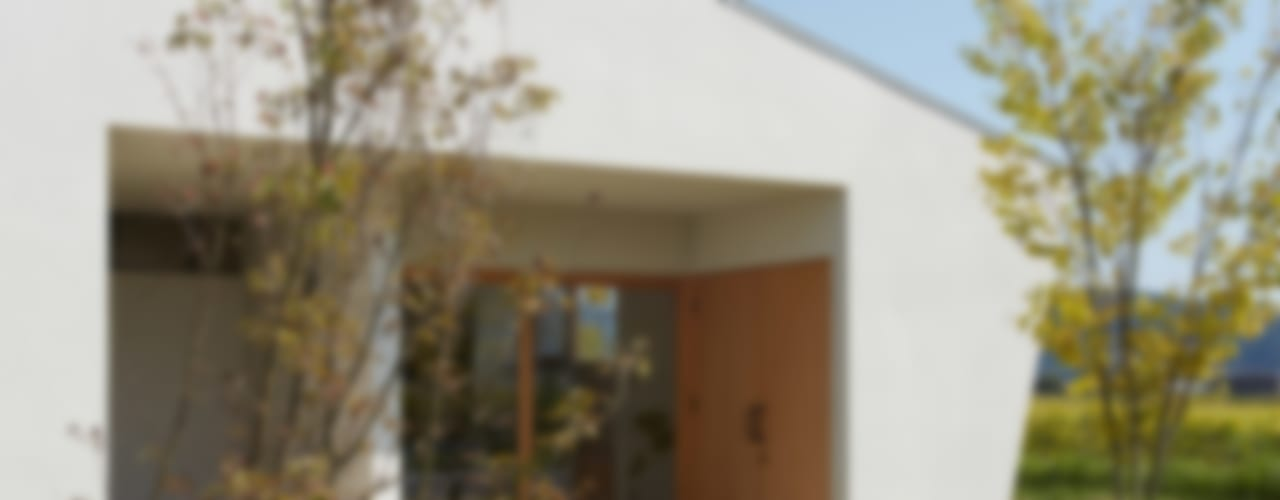 Casas de estilo moderno de toki Architect design office Moderno