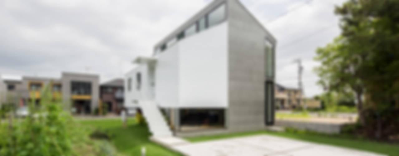 KAWATE モダンな 家 の 武藤圭太郎建築設計事務所 モダン