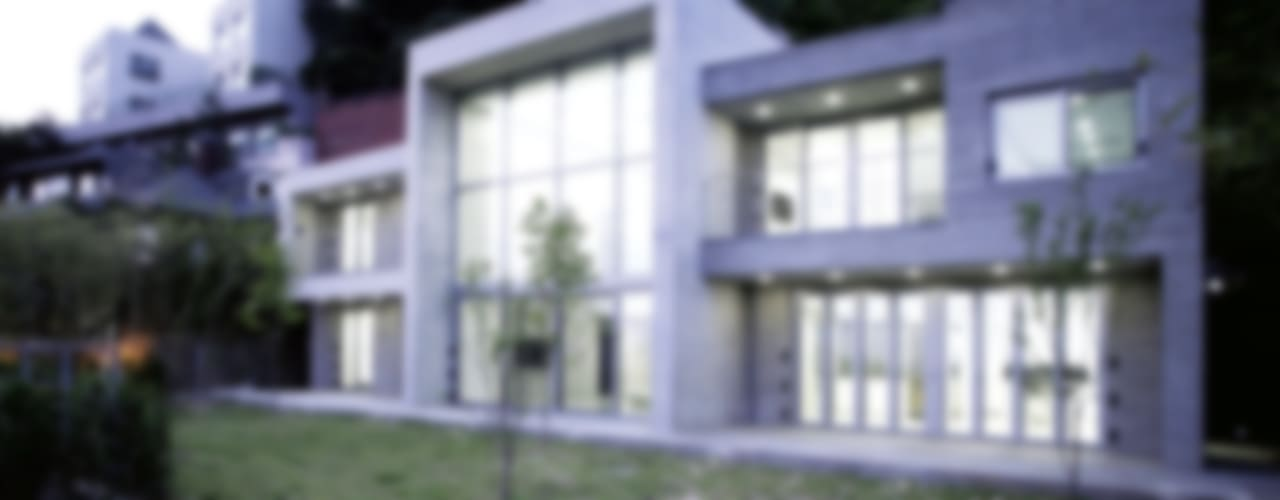 [엔디하임] 군더더기 없는 플랫한 스타일의 주택 - 서울 종로: 엔디하임 - ndhaim의  주택