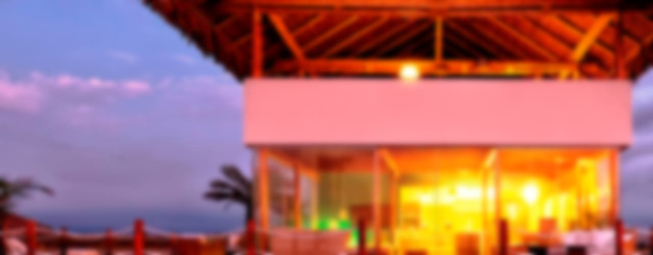Casas rústicas por YUPANA Arquitectos Rústico