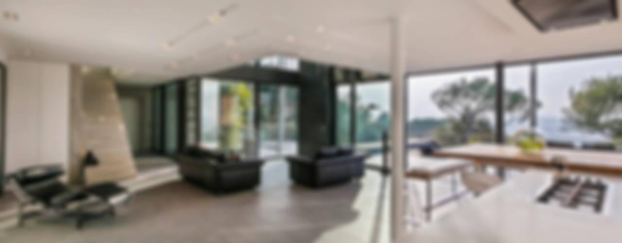 Maison D Salon moderne par didier becchetti architectes Moderne