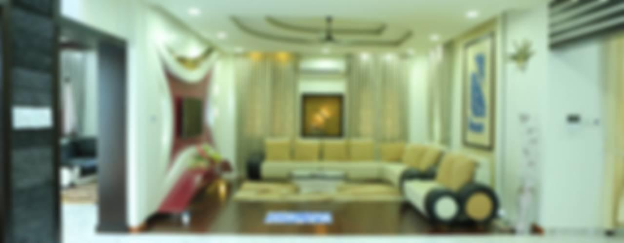 Ultra Modern Interior Design:  Living room by Premdas Krishna