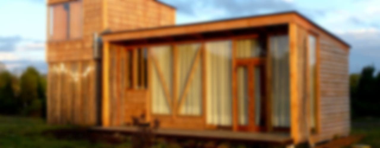 Projekty, nowoczesne Domy zaprojektowane przez PhilippeGameArquitectos