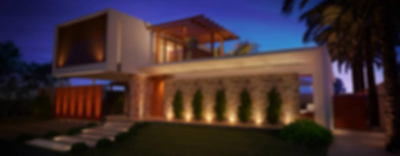 Casas modernas: Ideas, imágenes y decoración de ARC+ Arquitetura Moderno