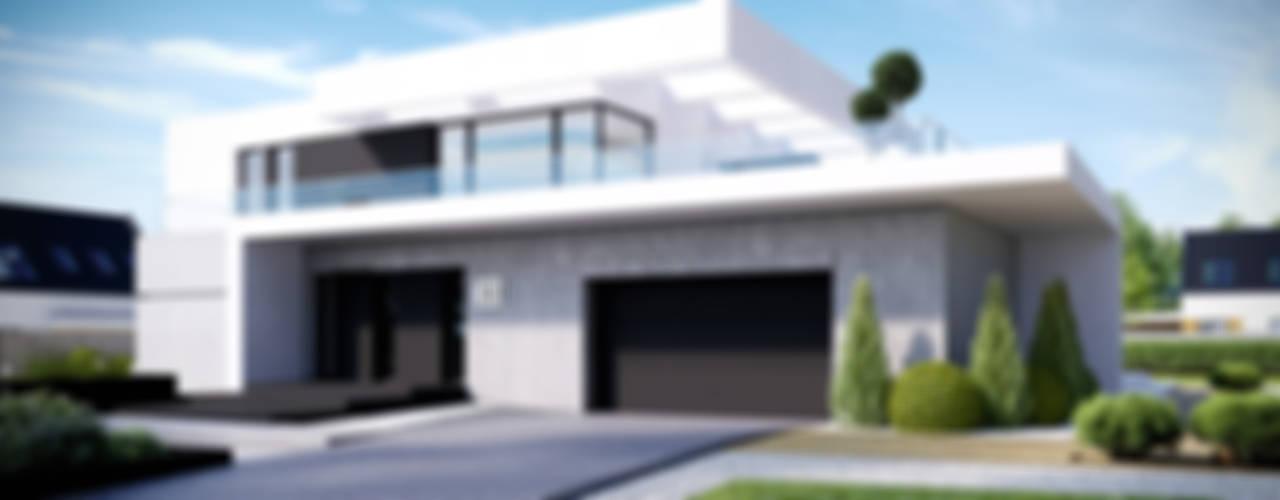 Casas modernas: Ideas, imágenes y decoración de HomeKONCEPT | Projekty Domów Nowoczesnych Moderno