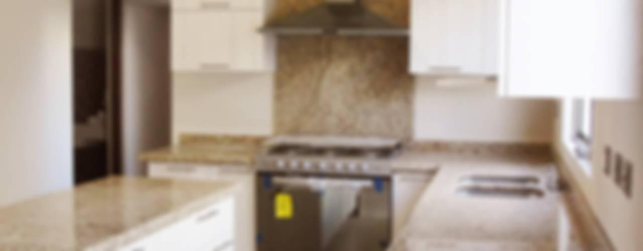 廚房 by H-abitat Diseño & Interiores , 現代風