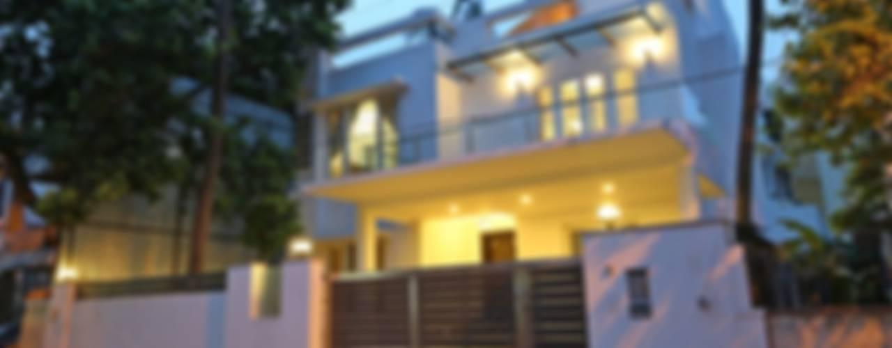 Minimal Melange house Modern houses by Ansari Architects Modern