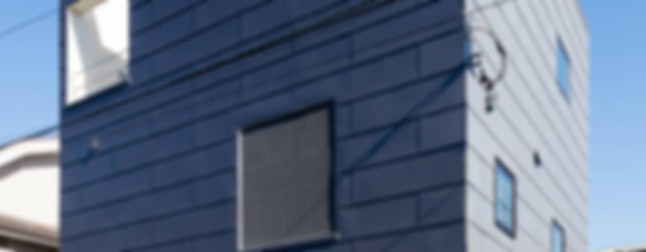 設計事務所アーキプレイス의  주택, 모던