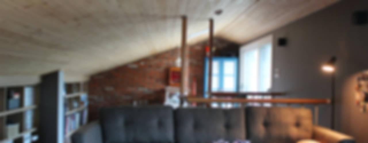 Projekty,  Salon zaprojektowane przez homify, Nowoczesny