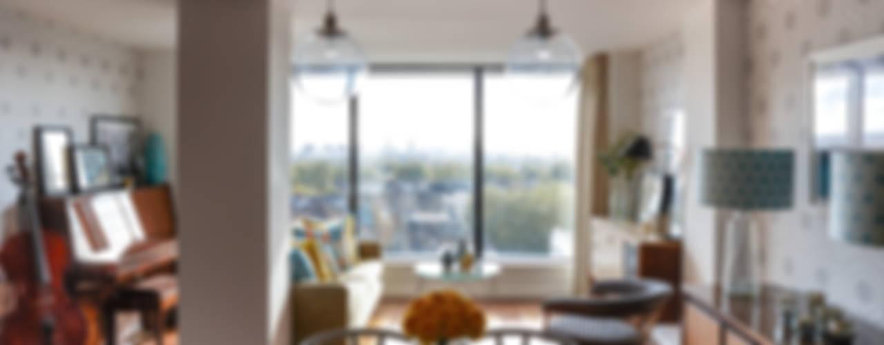 Gloucester Road Penthouse Modern living room by Bhavin Taylor Design Modern