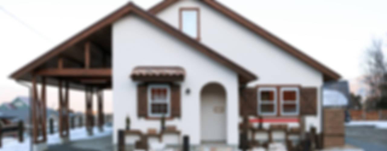 Maisons rurales par 株式会社アートカフェ Rural
