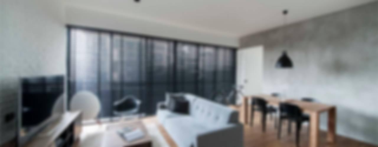 Projekty,  Salon zaprojektowane przez Eightytwo Pte Ltd