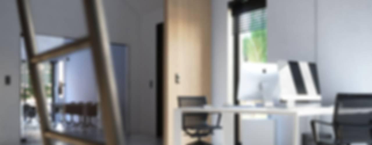 Biuro pod Krakowem: styl , w kategorii Przestrzenie biurowe i magazynowe zaprojektowany przez Kamińska Stańczak,