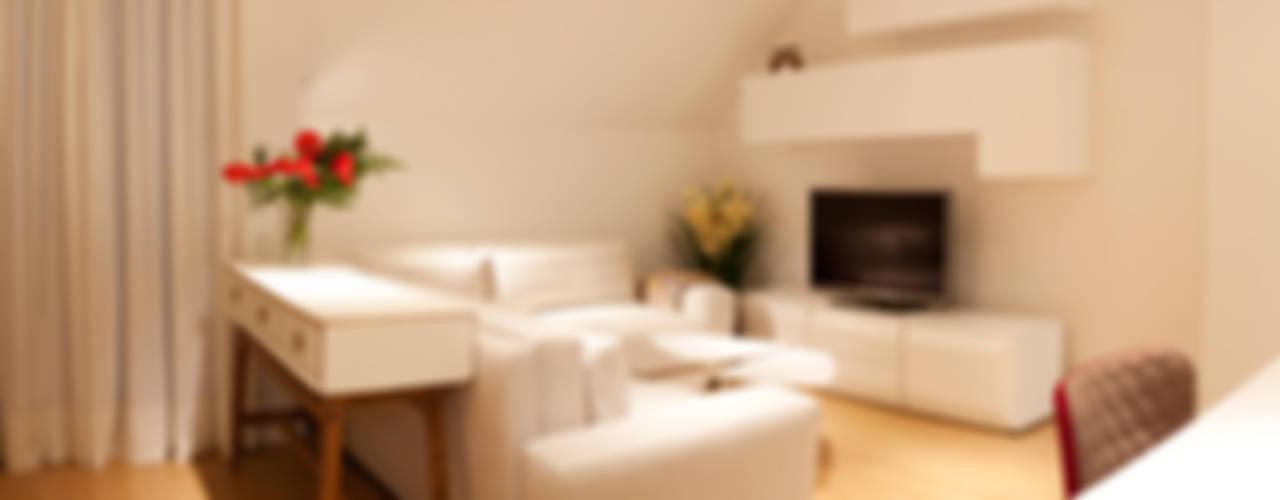 Salas de estilo moderno de LCB studio Moderno