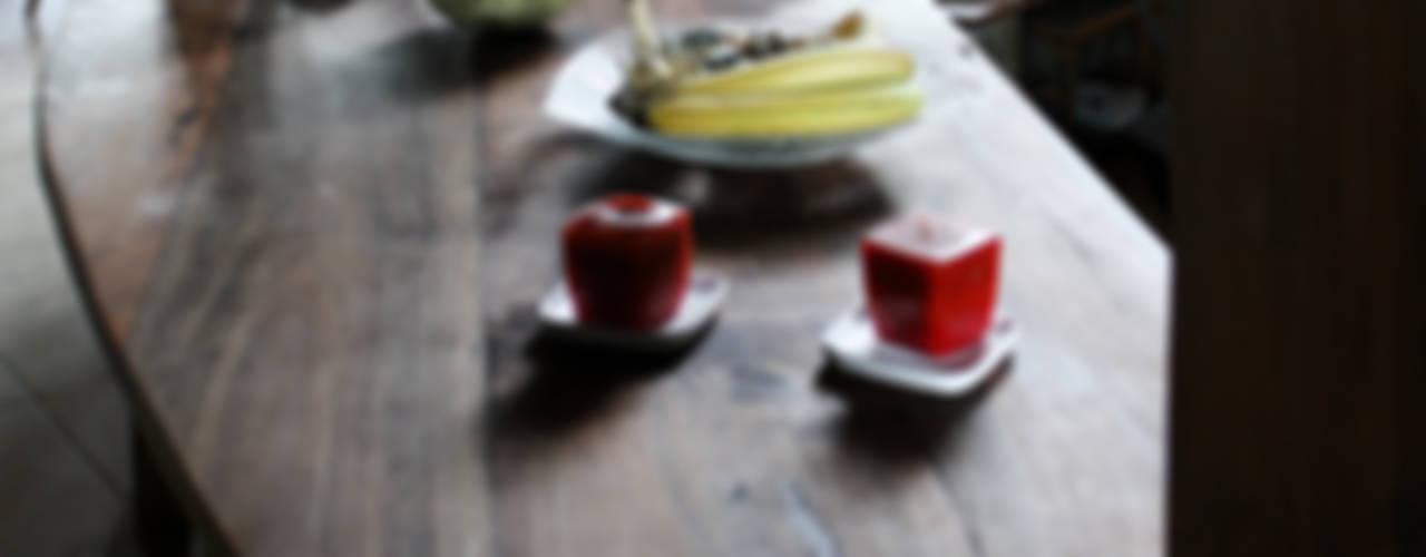 ALIWEN arquitectura & construcción sustentable - Santiago 廚房桌椅