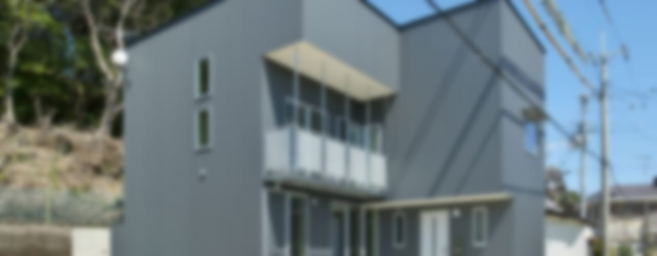 有限会社 橋本設計室의  주택, 모던
