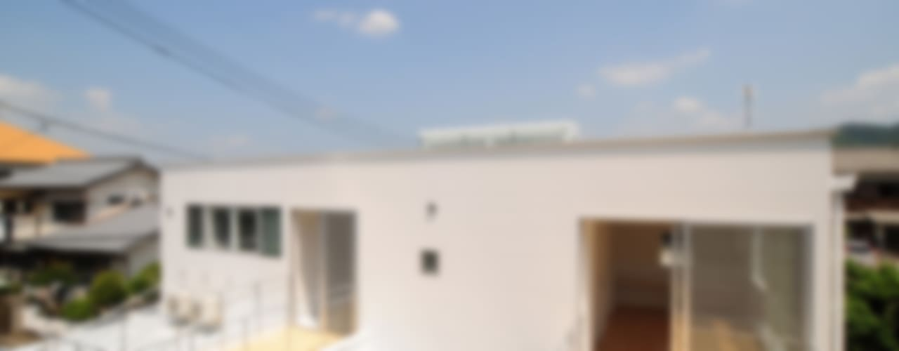 Casas estilo moderno: ideas, arquitectura e imágenes de 有限会社 橋本設計室 Moderno