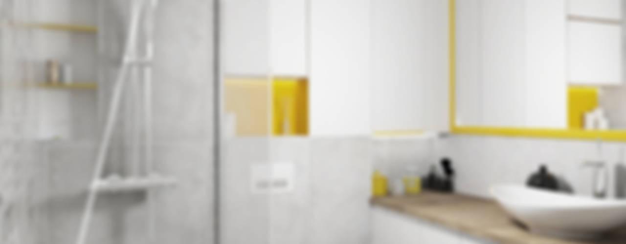 Modern bathroom by AAW studio Modern